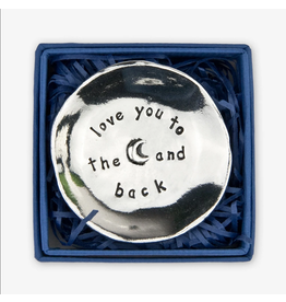Basic Spirit Pewter Charm Bowl Love You to the Moon