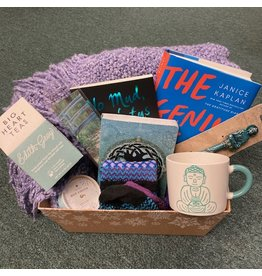 Cozy Bookworm Basket