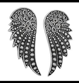 Tiger Mountain Earrings SS Angel Wing Stud