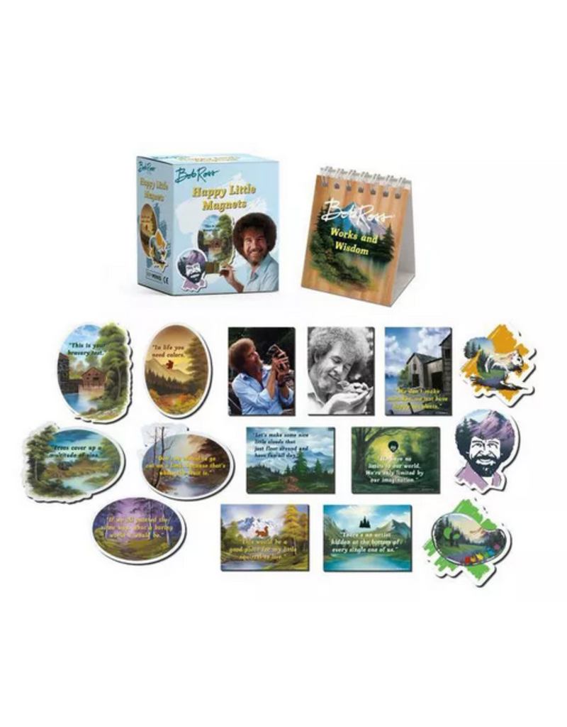 INGRM Bob Ross Happy Little Magnets