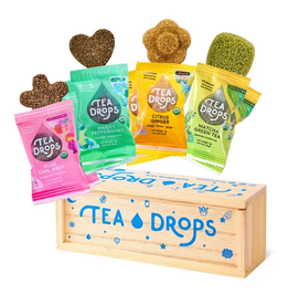 Tea Drops Classic Assortment Wooden Box