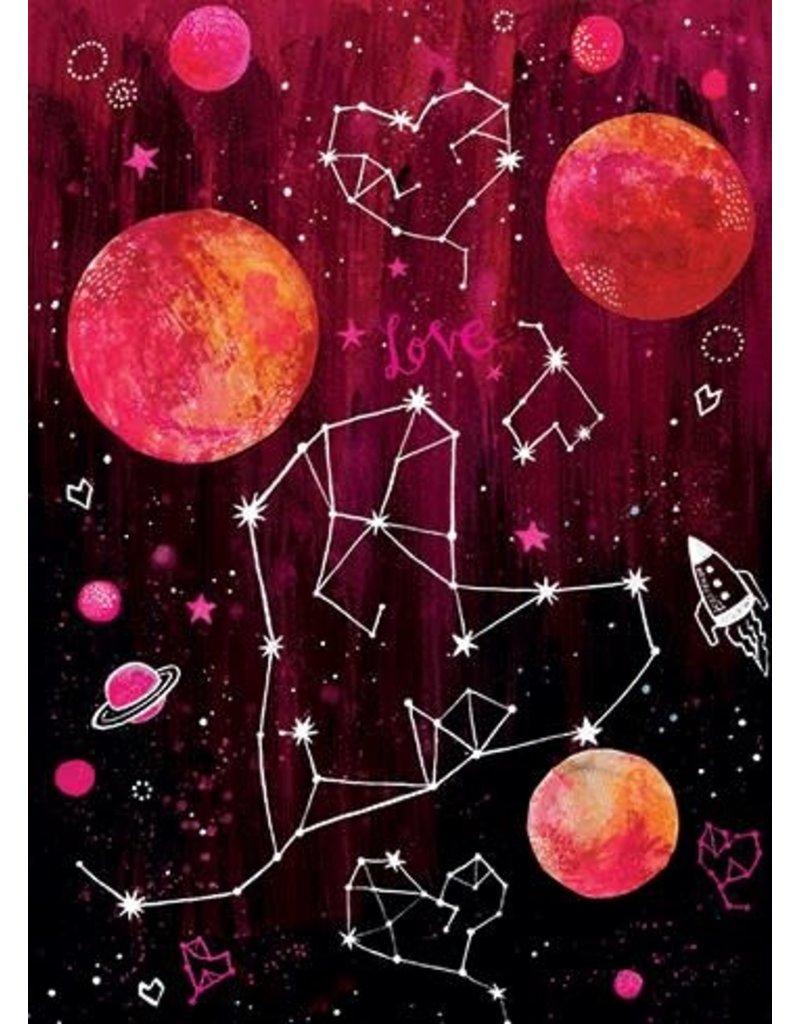 Card FRIEND Heart Constellation