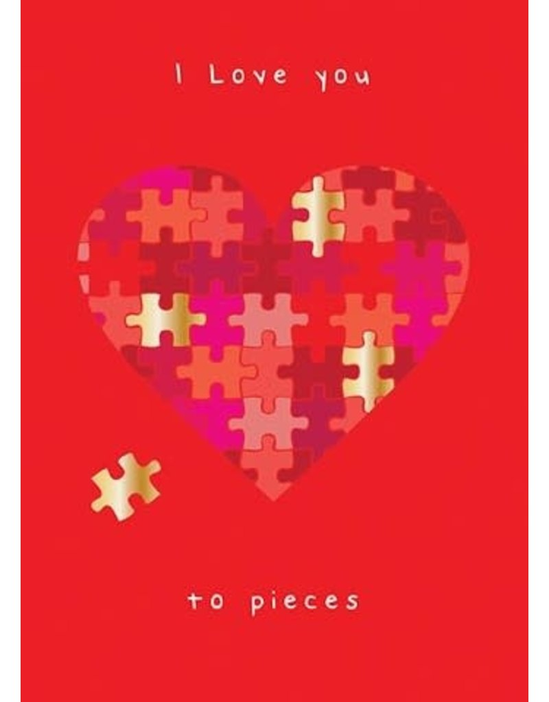 Card VDAY Puzzle Heart