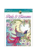 Birds & Blossoms Coloring Book