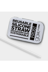 Silicone Straw - Extra Long Asst Colors