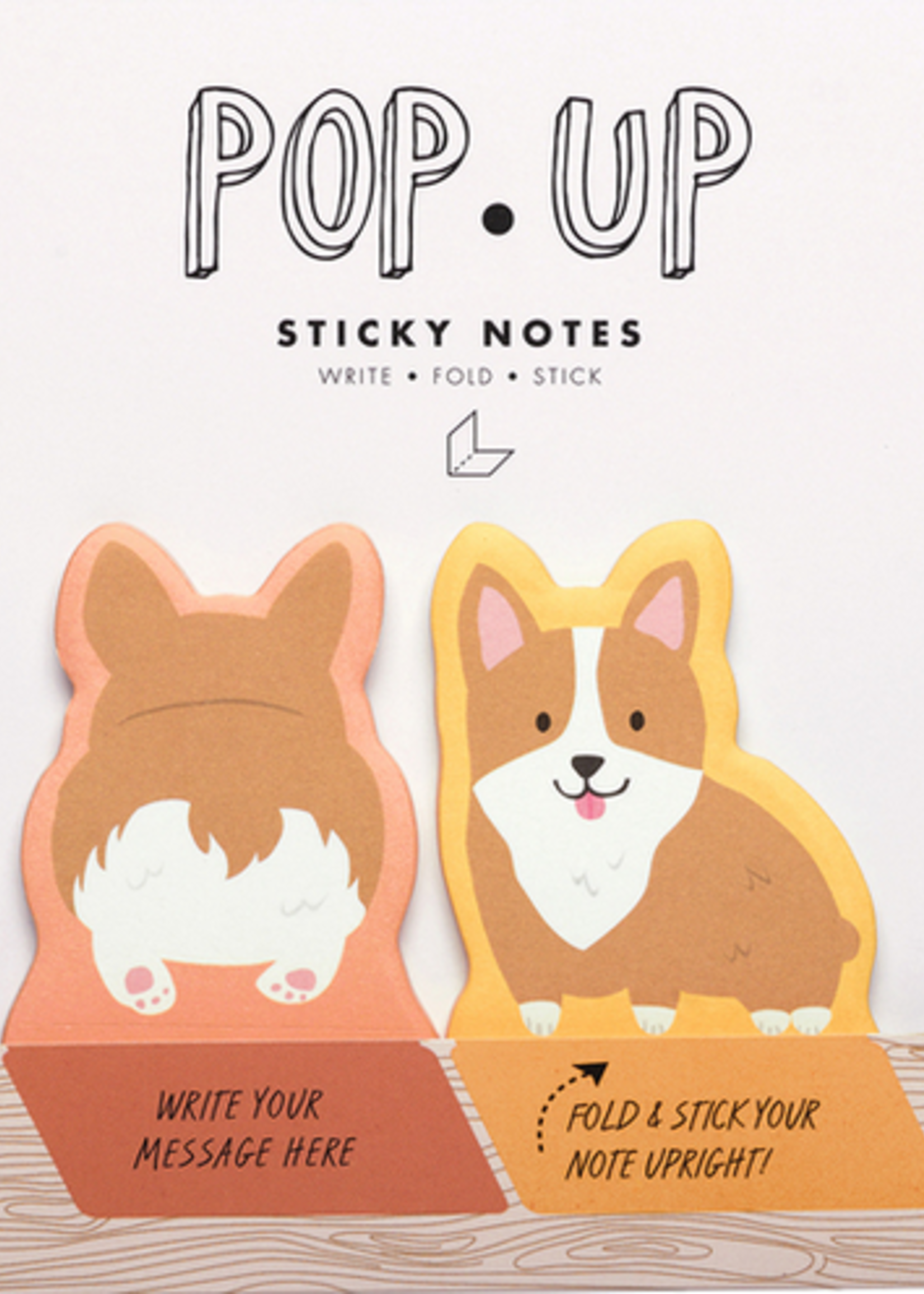 DOGS POP UP STICKY NOTE