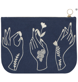 Show of Hands Large Zip Pouch