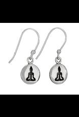 Earrings Buddha Coin SS