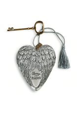 Art Hearts w/ keys *  Always & Forever