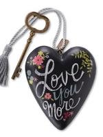 Art Hearts w/ keys *  Love you More