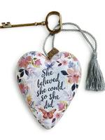Art Hearts w/ keys *  She Believed