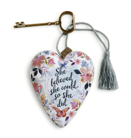 Art Hearts w/ keys *  She Believed