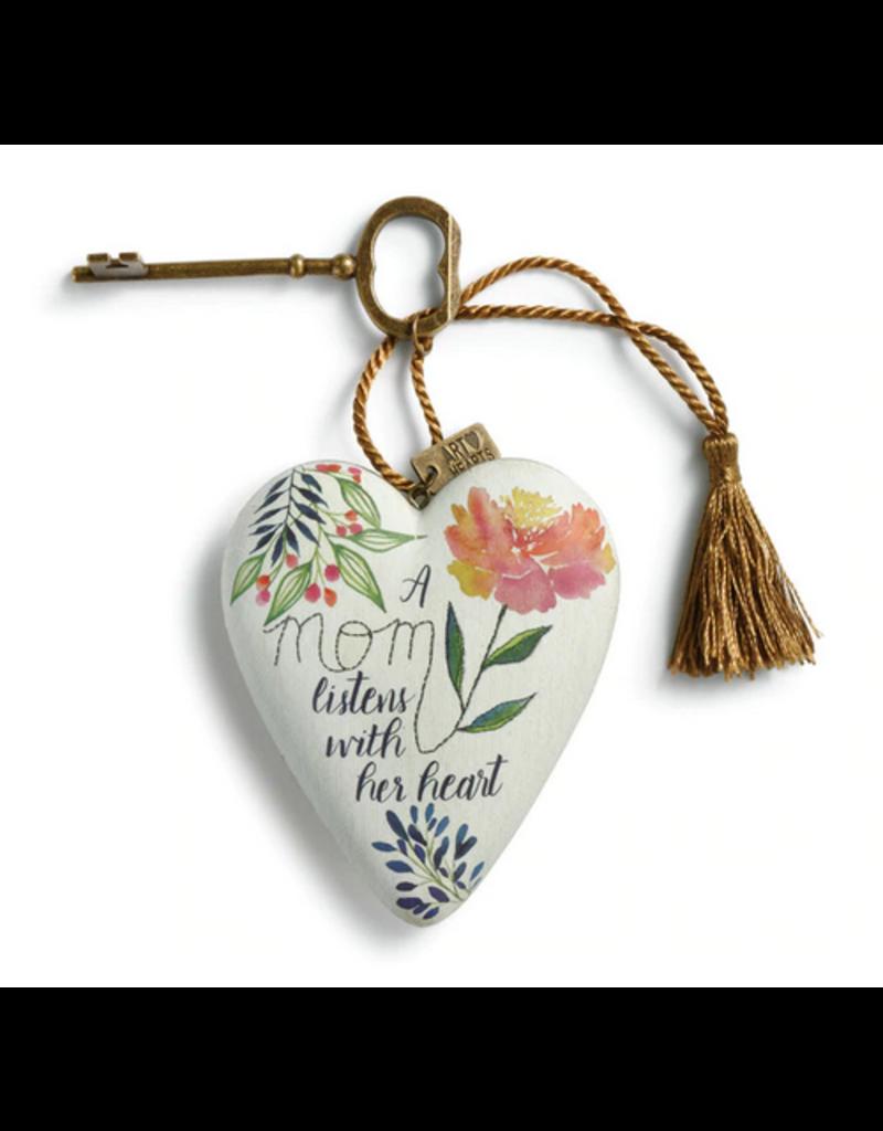 Art Hearts w/ keys * A Mom Listens