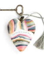 Art Hearts w/ keys * Find Beauty