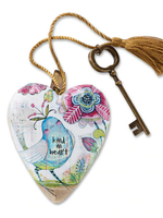 Art Hearts w/ keys * Kind In Heart