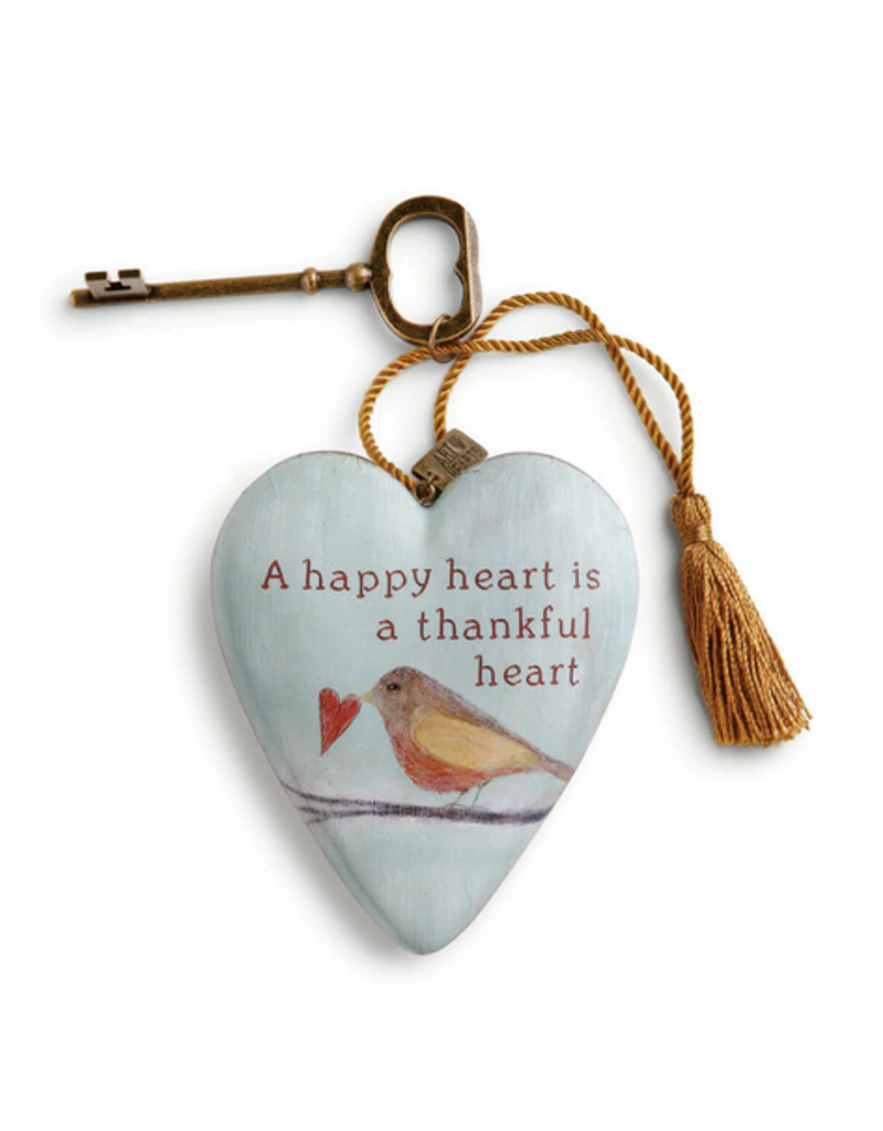 Art Hearts w/ keys * Thankful Heart