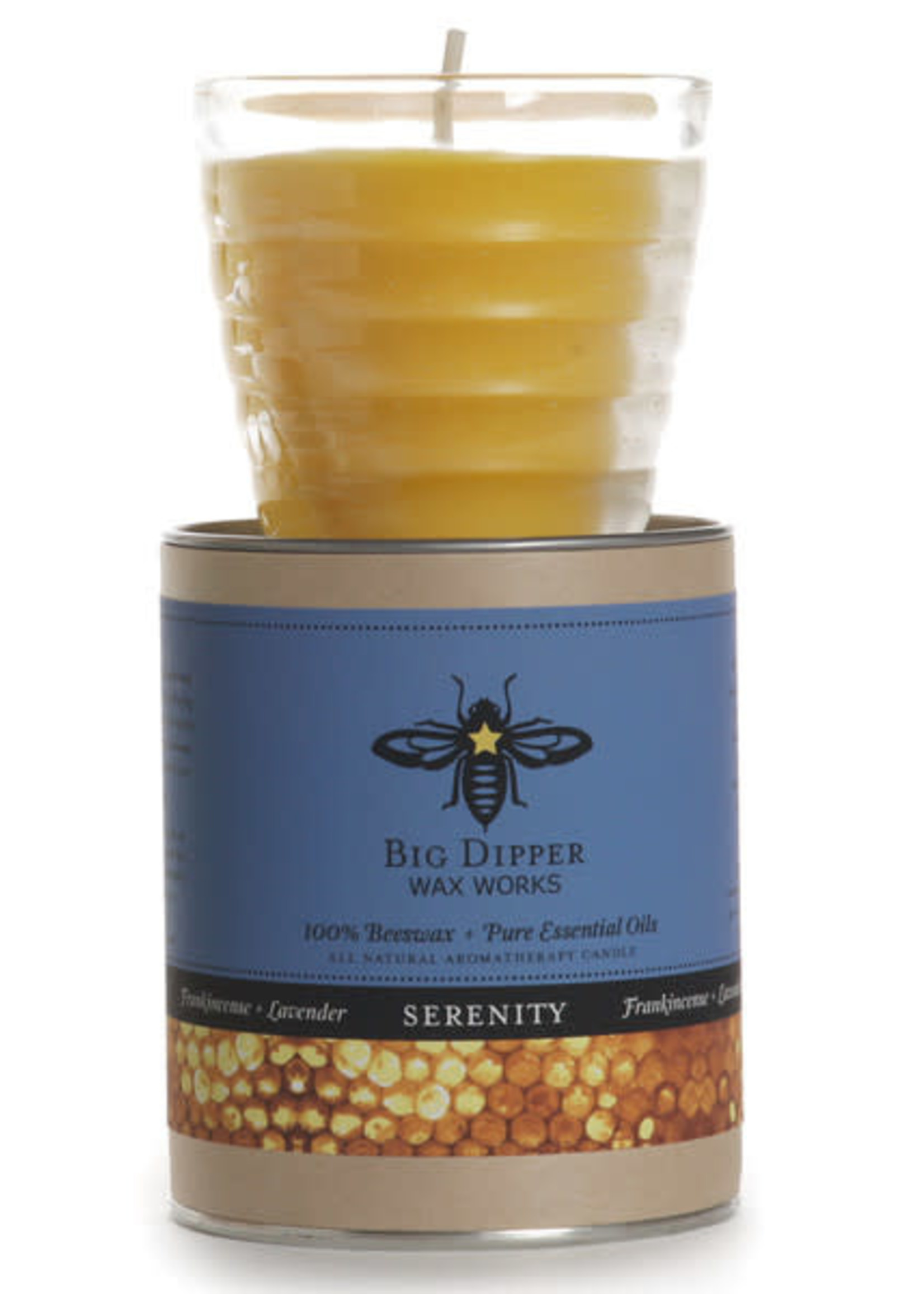 Big Dipper Beehive Glass Candles Serenity