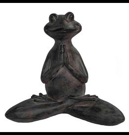 Praying Yoga Frog