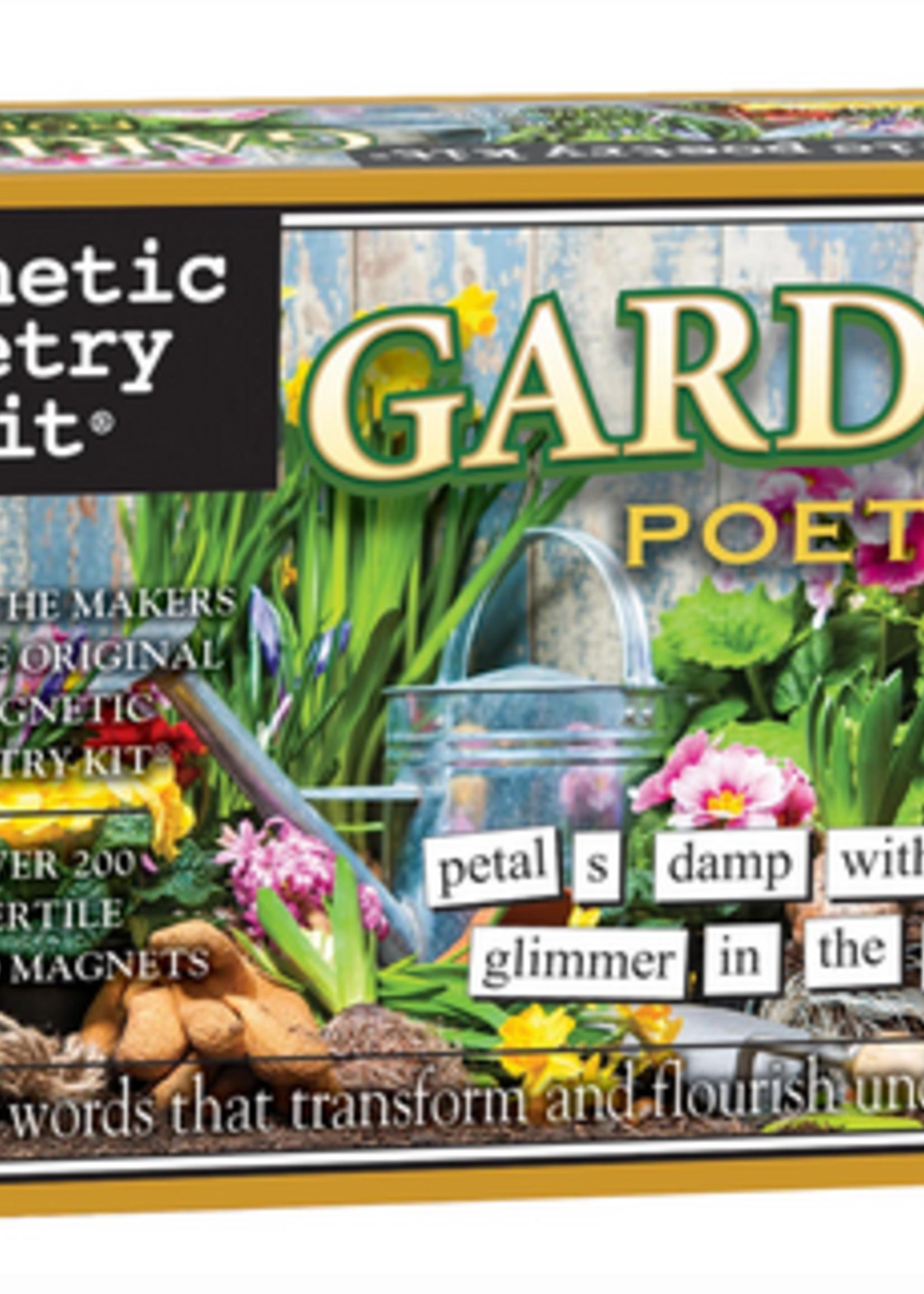 Magnetic Poetry- Garden