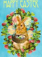 Card EASTER Easter Basket