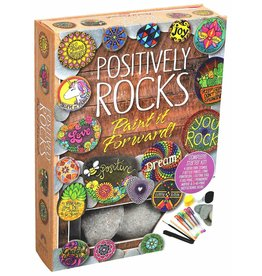 Positively Rocks, Book & Rocks to Paint