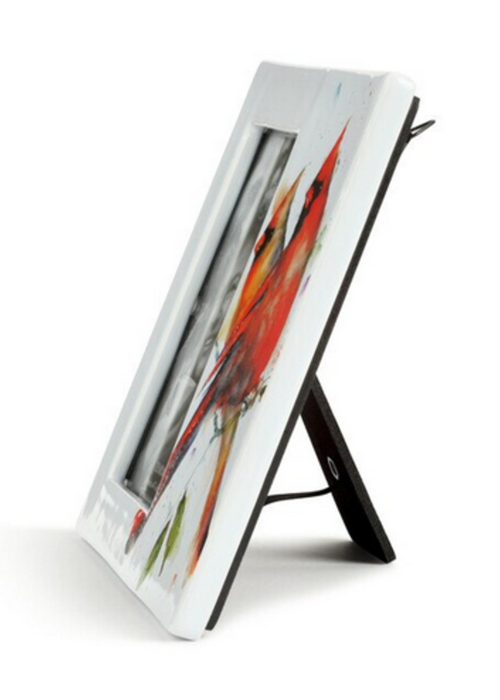 Cardinal Pair Ceramic Frame