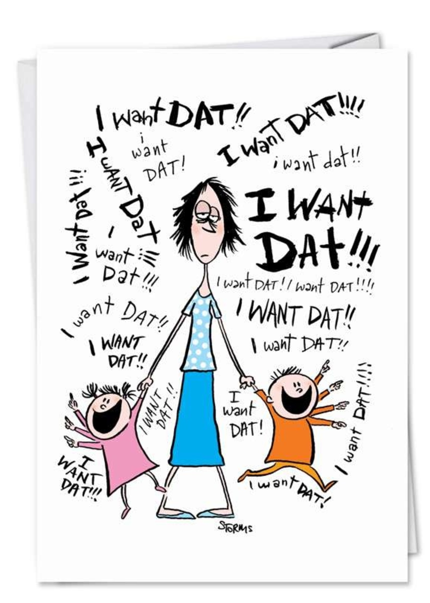 Card Mday I Want Dat