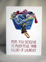 Card MDAY More Than Laundry
