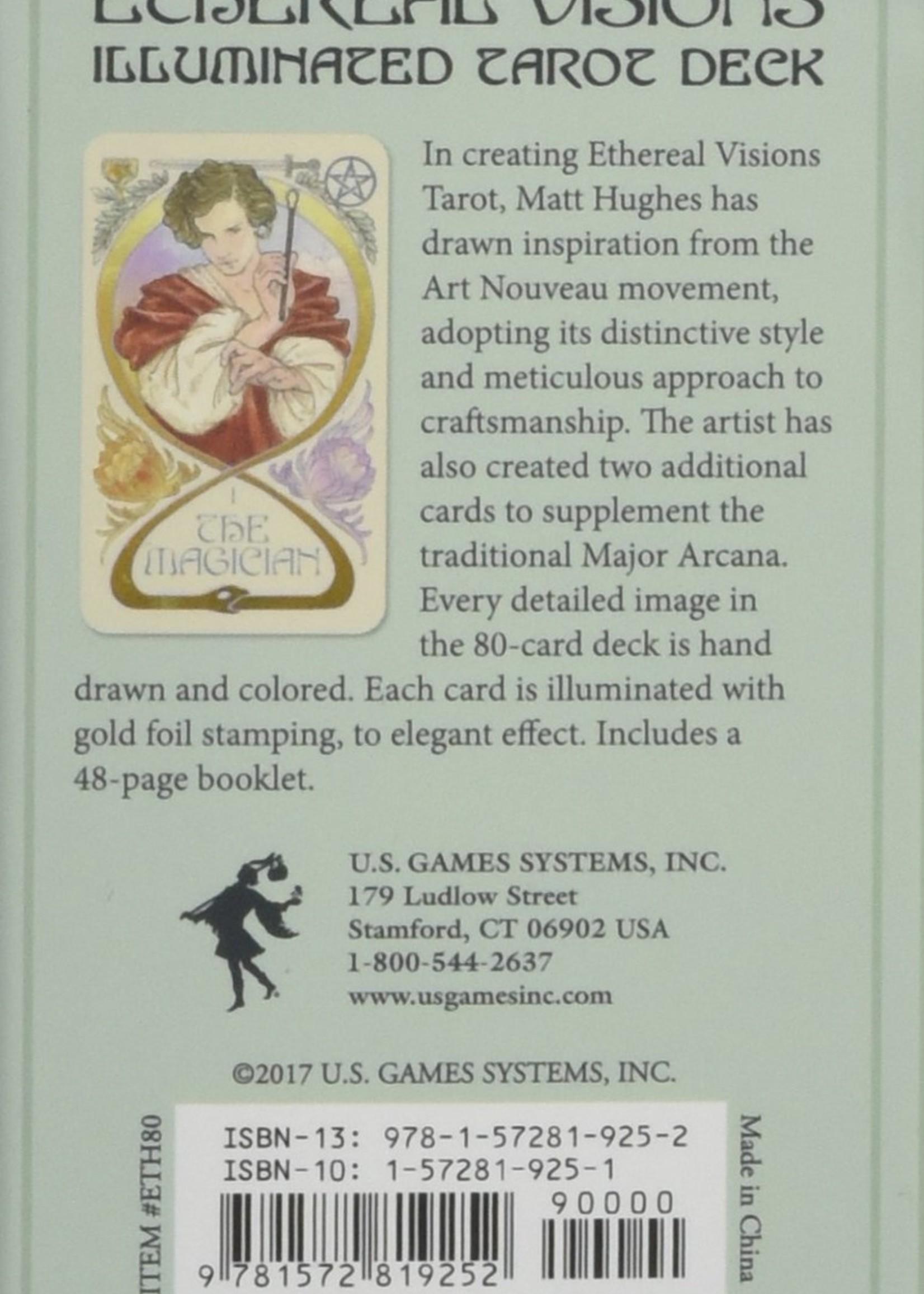 Deck Ethereal Visions: Illuminated Tarot