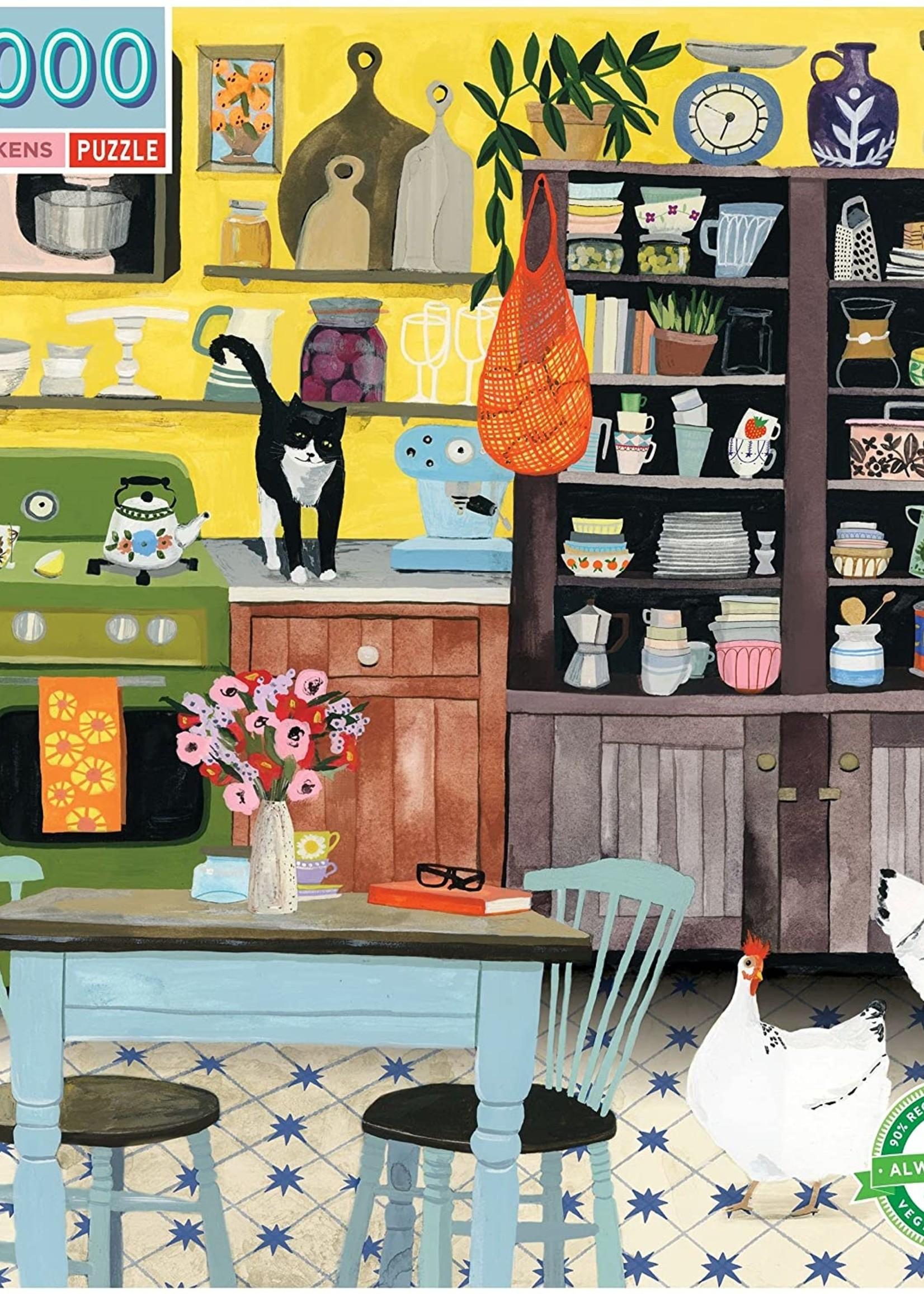 Kitchen Chickens 500 pc puzzle