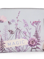Flower Bed Tassel Pouch Large