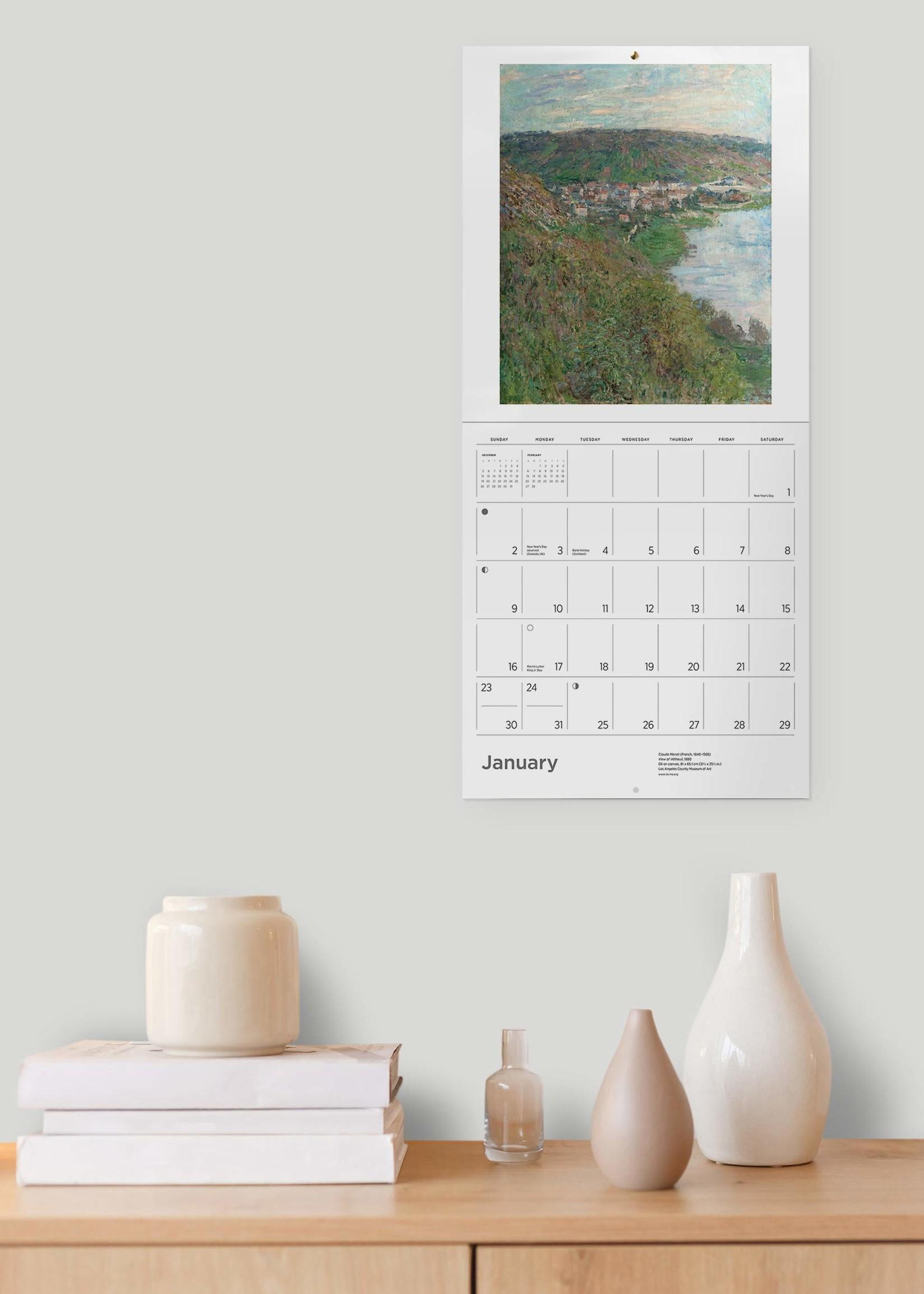 Cal 22 Claude Monet Wall
