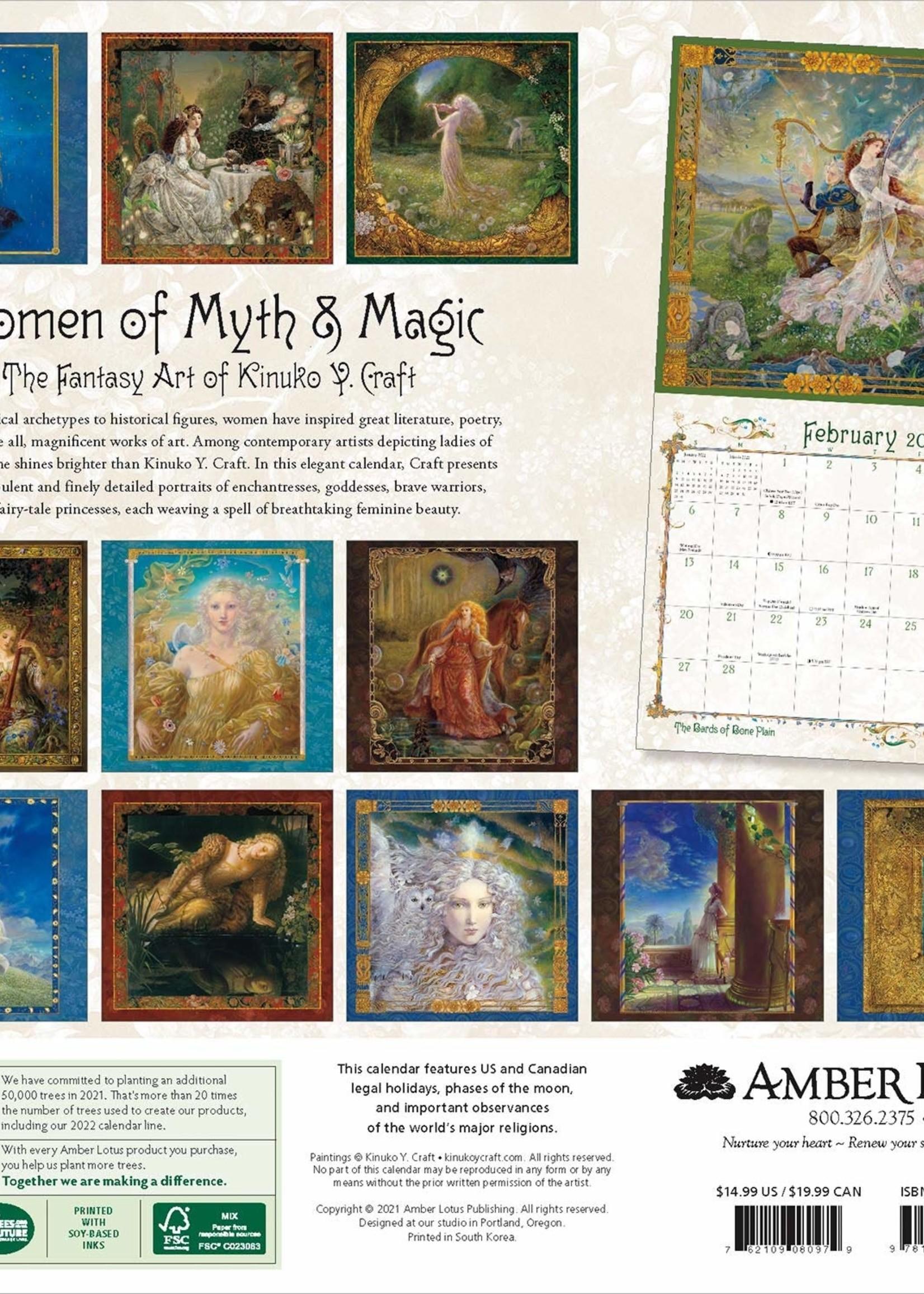 Cal 22 Women of Myth and Magic Wall