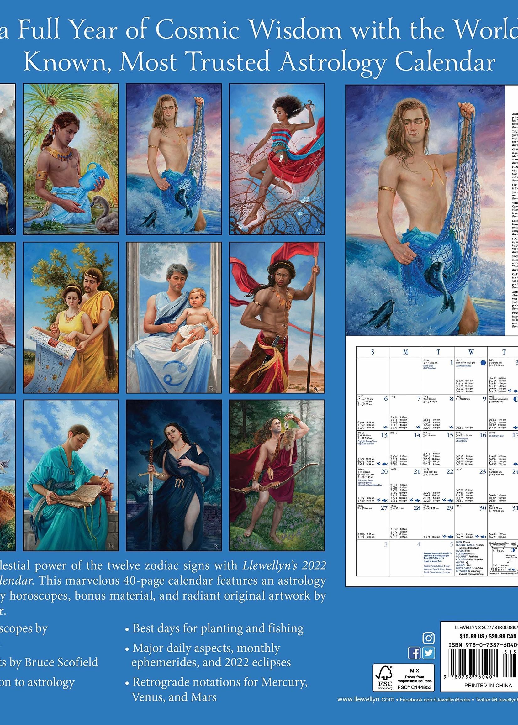 Cal 22 Lewellyn's Astrological Calendar