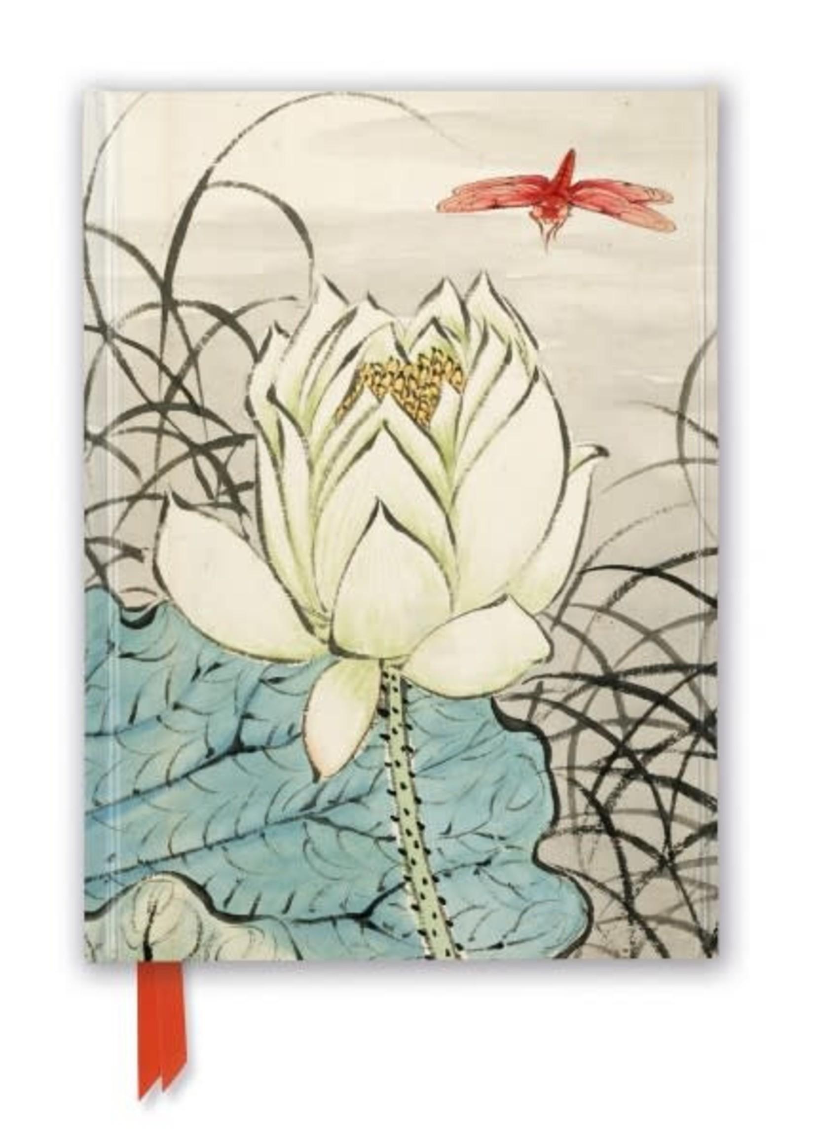 Ashmolean Ren Xiong Lotus Flower Journal