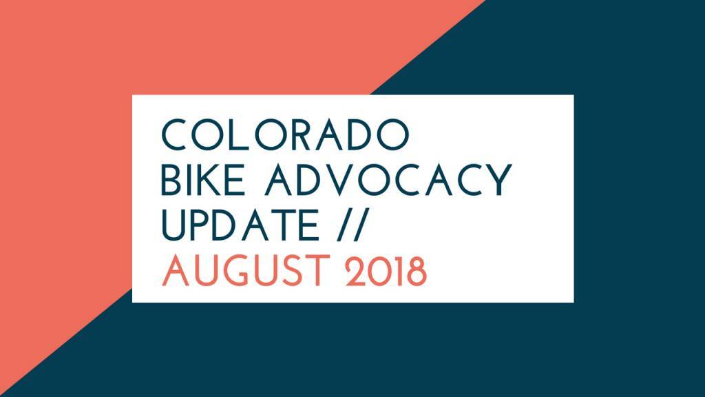 Shift Up Podcast: Colorado Bicycle Advocacy - August 2018