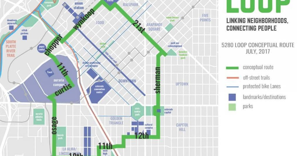Downtown Denver's 5280 Loop