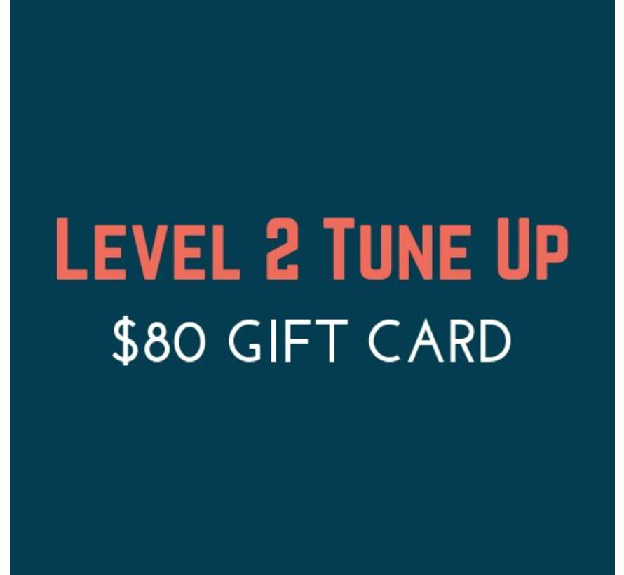 $80 Tune Up Gift Card