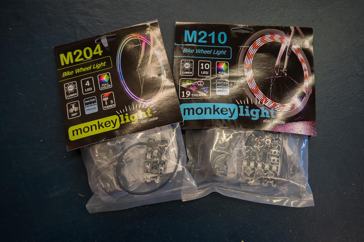 MonkeyLectric Wheel Lights