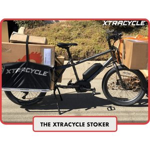 "Xtracycle Xtracycle eStoker 24"" Wheeled Electric Longtail Cargo Bike"