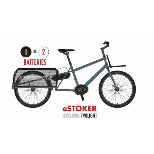 "Xtracycle Xtracycle eStoker 24"" Wheeled Electric Longtail Cargo Bike"