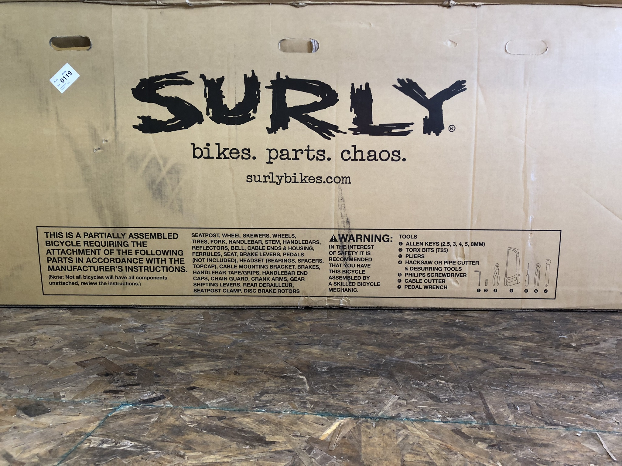 The Surly Big Easy Cargo Bike Has Arrived!