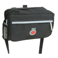 Banjo Brothers Handlebar Bag: MD, Black