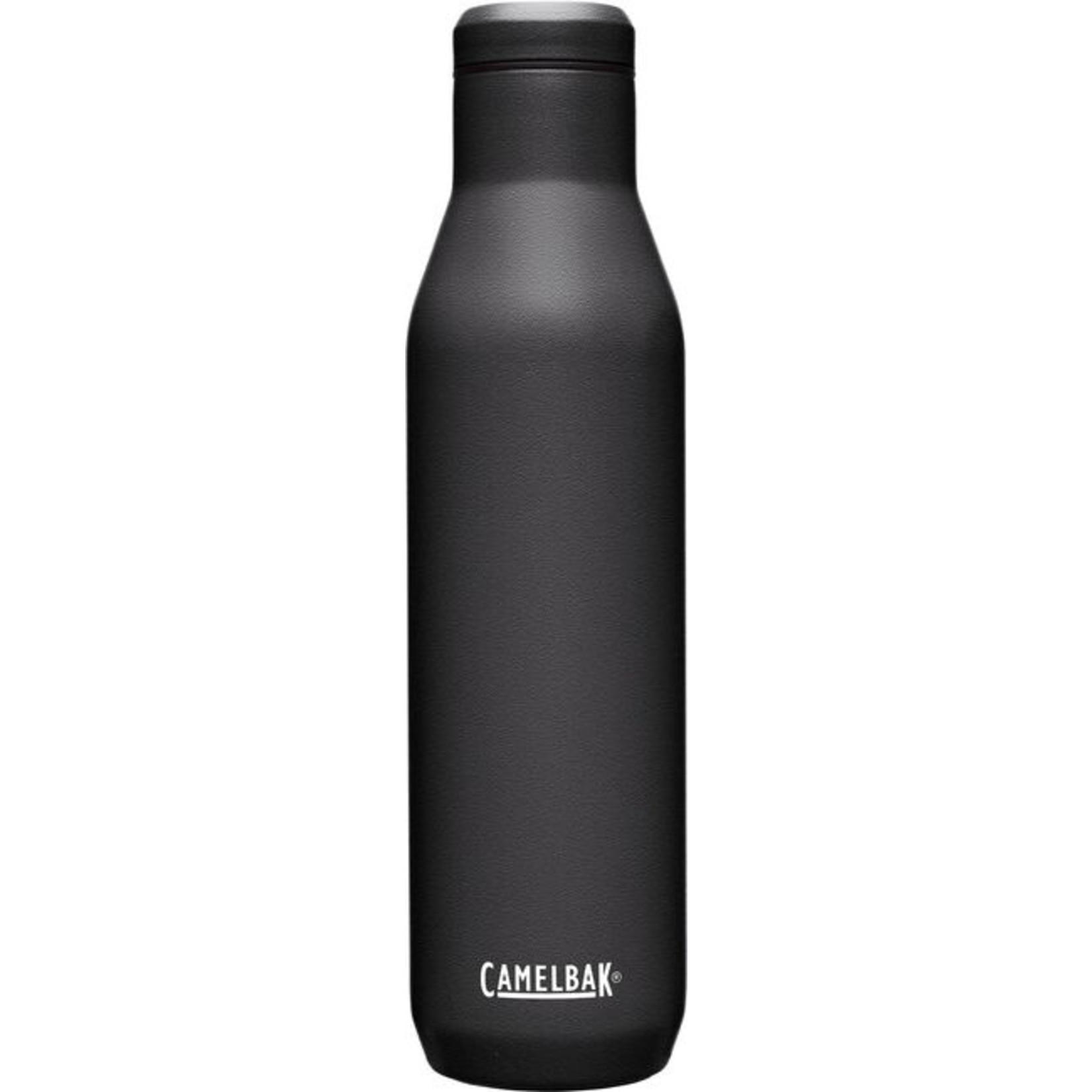 CAMELBAK WINE BOTTLE SST VACUUM INSULATED 740ML BLACK