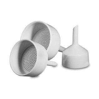 Goldleaf Scientific Porcelain Buchner Funnel, 84mm x 143mm (ODxH)