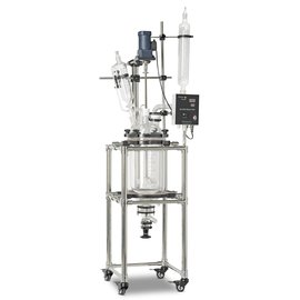 Goldleaf Scientific Double Wall Glass Reactor, 10L