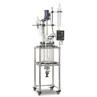 Goldleaf Scientific Double Wall Glass Reactor, 20L