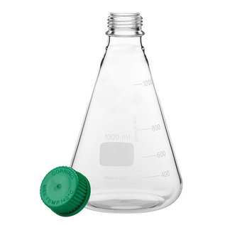 Goldleaf Scientific Erlenmeyer Flask w/ GL-45 Thread, 1000mL