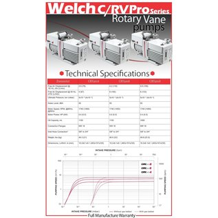 Welch CRVpro6 Rotary Vane Vacuum Pump