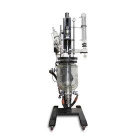Goldleaf Scientific Electric Lift Triple Wall Glass Reactor, 20L (Non-UL)